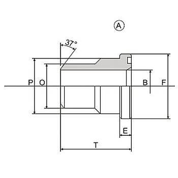 C3075-ST-A / B 3000 PSI Serisi O-Ringli (A) / O-Ringsiz (B) Alýn Kaynaklý Düz Flanþ - Flanþ Kepli Uygulamalar Ýçin