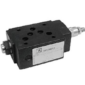 SD4M5/50 ( Cetop 3-5 ) NG 6-NG10 Modüler Sýralama Valfi