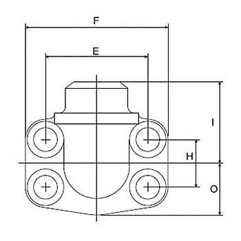 FS600-90°-ST 6000 PSI Serisi O-Ringli Kaynaklý 90° Flanþ - Alýn Kaynaklý Tip