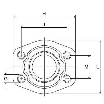 C401-S-FF 6000 PSI Serisi O-Ringsiz Kaynaklý Düz Flanþ - Geçme Kaynaklý Tip