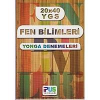 İpus Yayınları YGS 20x40 Fen Bilimleri Yonga Denemeleri