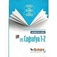 Sınav Yayınları LYS Coğrafya 1-2 Akordiyon Serisi