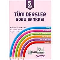 Karekök 5.Sınıf Tüm Dersler Soru Bankası (2017)