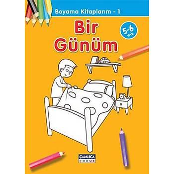 Bir Günüm - Boyama Kitaplarým 1 - Abdullah Özbek - Çamlýca Çocuk Yayýnlarý