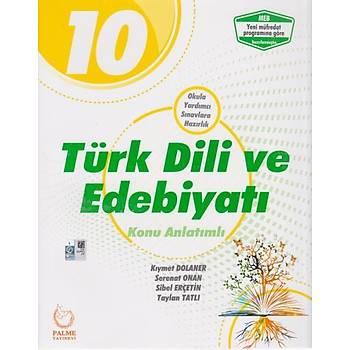 10.Sınıf Türk Edebiyatı Konu Anlatımlı Palme Yayıncılık