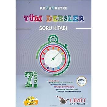 Limit 7.Sýnýf Kronometre Tüm Dersler Soru Kitabý