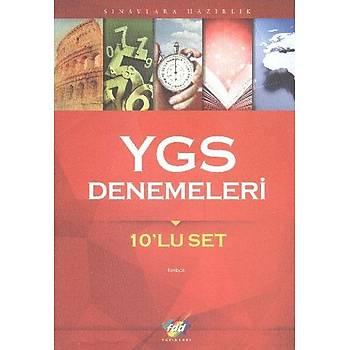 YGS Denemeleri 10lu FDD Yayýnlarý