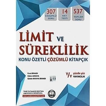 Yüzde Yüz LYS Limit ve Süreklilik Konu Özetli Çözümlü Kitapçýk