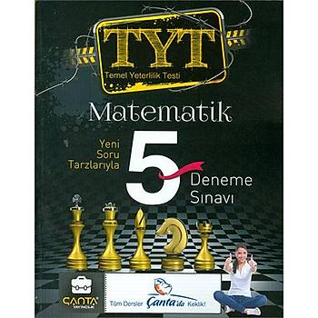 TYT Matematik 5 Deneme Çanta Yayýnlarý