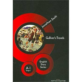 Gullivers Travels - Jonathan Swift (Stage-1) Karnaval Kitap