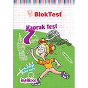 Blok Test 7.Sýnýf Ýngilizce Yaprak Testi