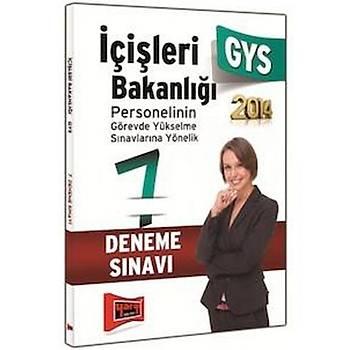Yargý Yayýnevi Ýçiþleri Bakanlýðý GYS 7 Fasikül Deneme