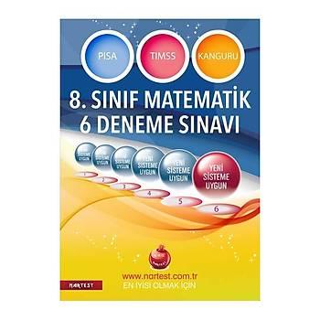 8. Sýnýf Lgs Matematik 6 Deneme Sýnavý-Nartest Yayýnevi