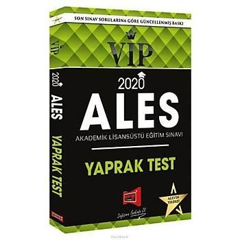 Yargý 2020 ALES VIP Yaprak Test
