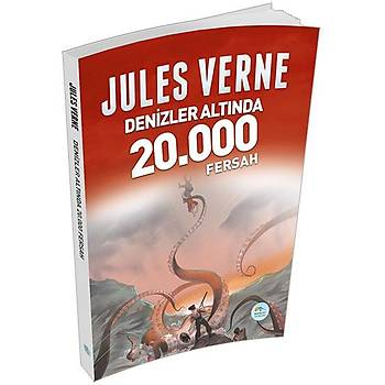 Denizler Altýnda 20,000 Fersah - Jules Verne - Maviçatý Yayýnlarý