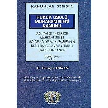Hukuk Usulü Muhakemeleri Kanunu - Av.Hamiyet Arýkan