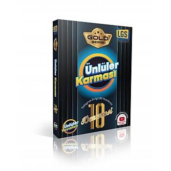 8.Sýnýf LGS Gold Serisi Ünlüler Karmasý 10'lu Deneme - Ünlüler Yayýnlarý