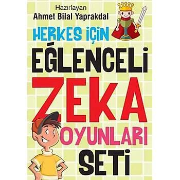 Herkes Ýçin Eðlenceli Zeka Oyunlarý Seti (4 Kitap Takým)