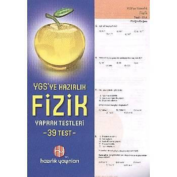 YGS Fizik Yaprak Testleri