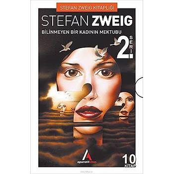 Stefan Zweig Seti 10 Kitap (Set-2) Aperatif Kitap Yayýnlarý