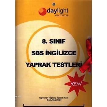 8.Sýnýf SBS Ýngilizce Yaprak Testler Kolektif -Daylight