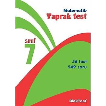 7. Sýnýf Matematik Yaprak Test