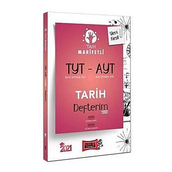 Yargý TYT-AYT Tam Marifetli Tarih Defterim - 2021