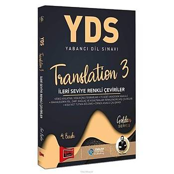 Yargý YDS Translation 3 Ýleri Seviye Renkli Çeviriler