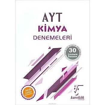 Karekök AYT Kimya 30lu Deneme Sýnavý