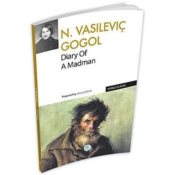Diary Of A Madman - Nikolay Vasilievich Gogol - (İngilizce)