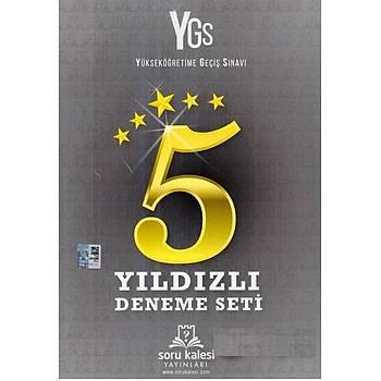YGS Yýldýzlý 5 Deneme Seti Soru Kalesi Yayýnlarý
