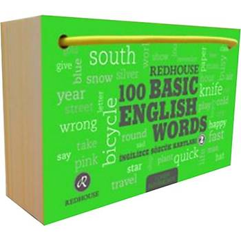 Redhouse 100 Basic English Words 2 - Redhouse