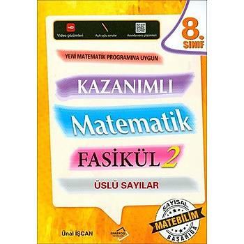 Karekod 8.Sýnýf Kazanýmlý Matematik Fasikül-2 Üslü Sayýlar