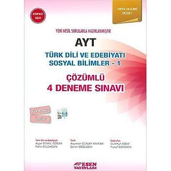 Esen AYT Türk Dili ve Edebiyatý Sosyal Bilimler Kýrmýzý Seri