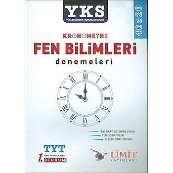 Limit TYT Kronometre Fen Bilimleri 40x20 Denemeleri 2019
