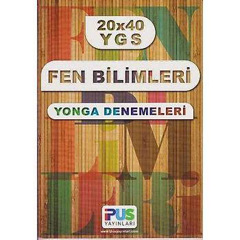 Ýpus Yayýnlarý YGS 20x40 Fen Bilimleri Yonga Denemeleri