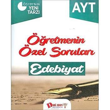 Dahi Adam AYT Öðretmenin Özel Sorularý Edebiyat Soru Bankasý