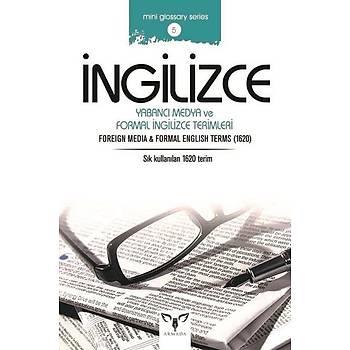 Ýngilizce Yabancý Medya ve Formal Ýngilizce Terimleri - Mahmut Sami Akgün