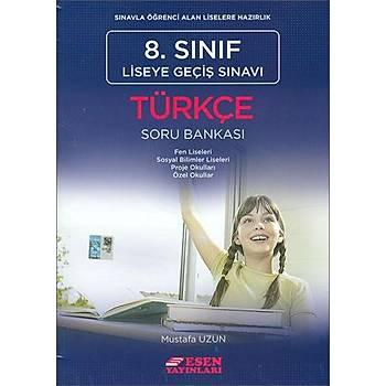 Esen LGS 8.Sýnýf Türkçe Soru Bankasý (Yeni Müfredat)