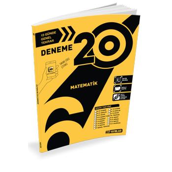 6. Sýnýf Matematik 20 li Deneme Hýz Yayýnlarý 2020