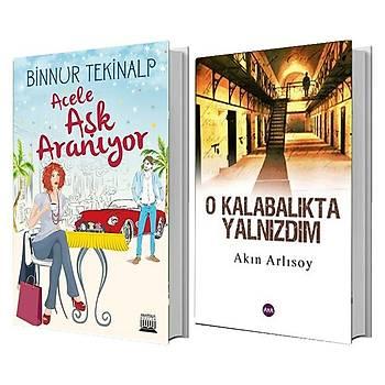 Acele Aþk Aranýyor + O Kalabalýkta Yalnýzdým - 2 Kitap Set - ÜCRETSÝZ KARGO