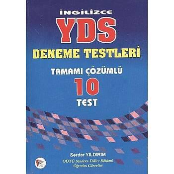 Ýngilizce YDS Deneme Testleri Tamamý Çözümlü 10 Test
