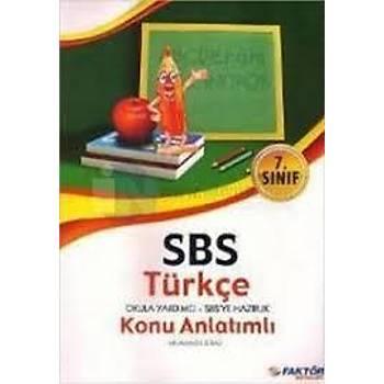 7.Sýnýf SBS Türkçe Okula Yardýmcý-Sbs ye Hazýrlýk K.A.