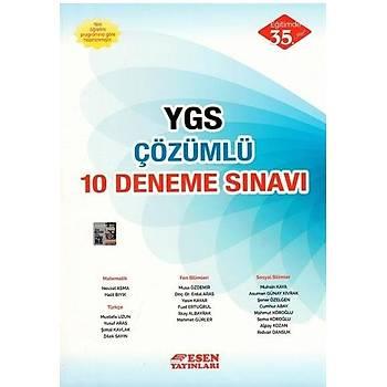 YGS Çözümlü 10 Deneme Sýnavý Esen Yayýnlarý