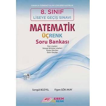 Esen 8.Sýnýf LGS Matematik Üçrenk Soru Bankasý (Yeni Müfredat)
