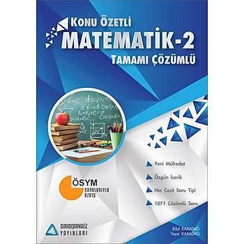 Sýradýþýanaliz AYT Matematik-2 Konu Özetli Tamamý Çözümlü