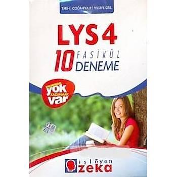 LYS 4 - 10 Fasikül Deneme - Tarih - Coðrafya 2 - Felsefe Grubu