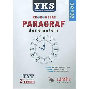 Limit TYT Kronometre Paragraf Denemeleri 2019