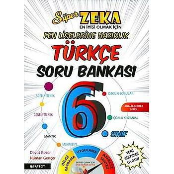 Nartest 6.Sýnýf Süper Zeka Türkçe Soru Bankasý