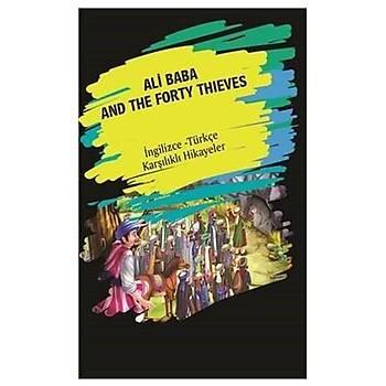 Ali Baba And The Forty Thýeves (Ýngilizce Türkçe Karþýlýklý Hikayeler) - Dorlion Yayýnevi